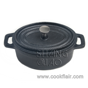 Mini Oval Cast Iron Casserole