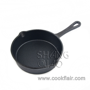 Round Cast Iron Mini Skillet