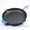 3 Piece Set Enameled Cast Iron Frying Pan