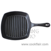 10-inch Cast Iron Square Grill Pan