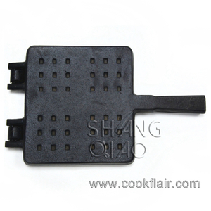 Square Cast Iron Waffle Maker
