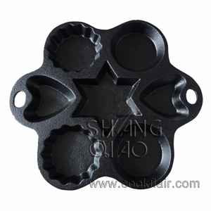 Cast Iron Multi-shape Cake Pan