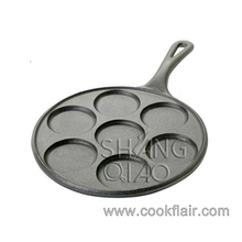 Cast Iron 7-hole Pancake Pan