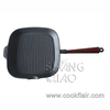Pre-seasoned Cast Iron Square Grill Pan