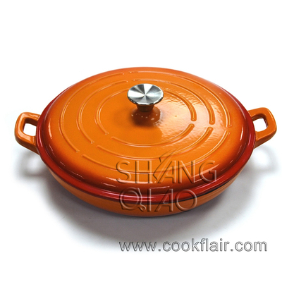 Enameled Cast Iron Braiser