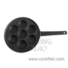 7 Holes Cast Iron Aebleskiver Pan