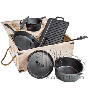 Cast Iron Camping Cookware Set